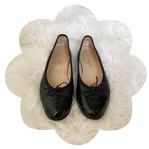 ✨🖤 Chanel 🖤✨ Ballerina Flats